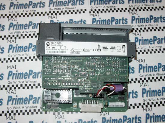 Allen Bradley 1746 Bas Slc 500 Basic Module 1746 Bas