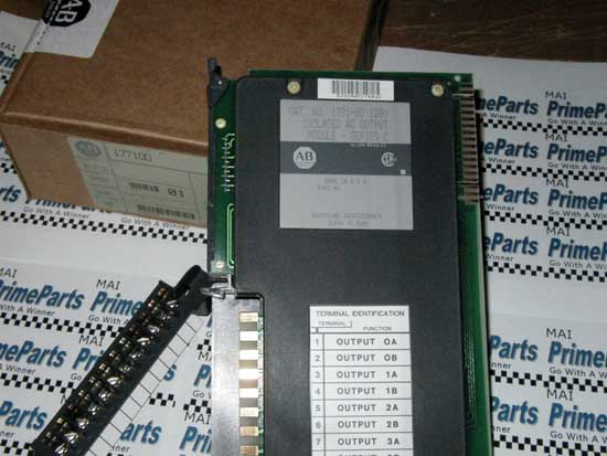 Allen Bradley 1771-OD 120VAC ISOLATED OUTPUT MODULE PLC5