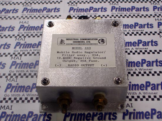 443 I.C.E. Mobile Radio Regulator Filter