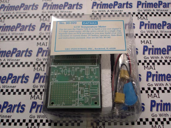 80-020 DATAKit LCD Temperature Meter Kit