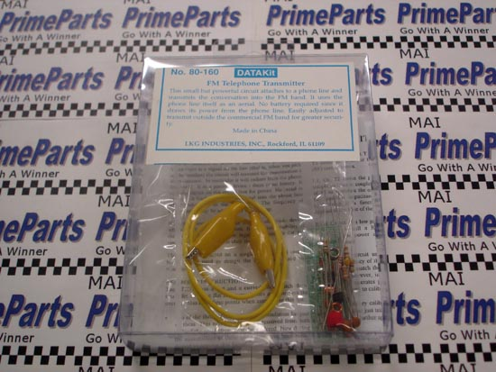 80-160 DATAKit FM Telephone Transmitter Kit