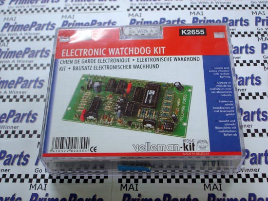K2655 Velleman-Kit Electronic Watch Dog