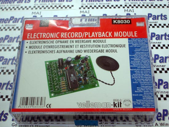 K8030 Velleman-Kit Electronic Record/Playback Module