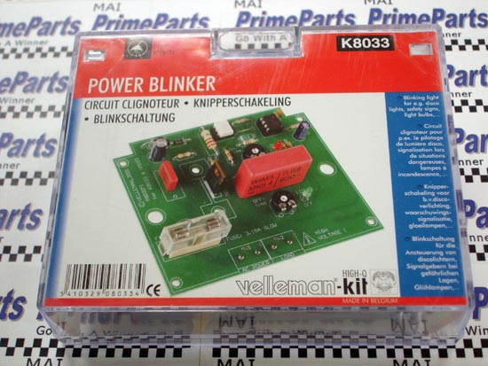 K8033 Velleman-Kit Power Blinker