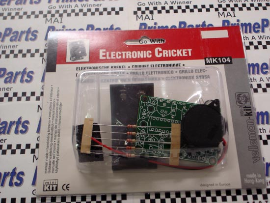 MK104 Velleman-Kit Electronic Cricket