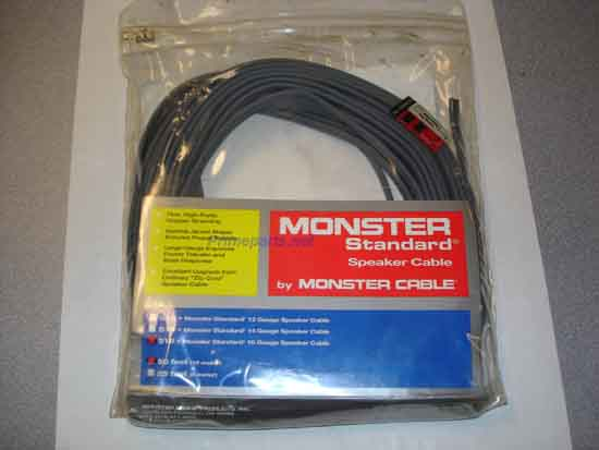 Monster S16-50 S16 SPKR CABLE 50 FT