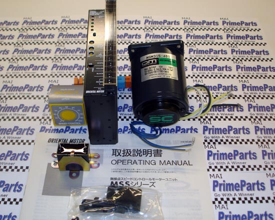 MSS315-401 Motor and Speed Control Kit -Oriental Motor