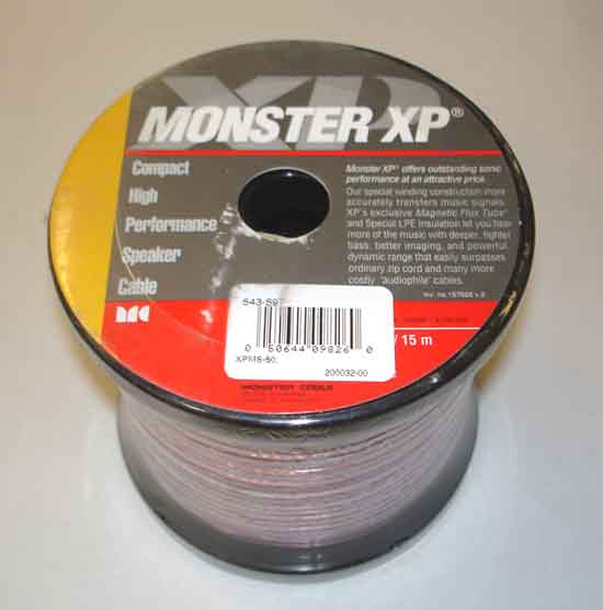 Monster 543-597 XPMS 50 XP SPKR CABLE 50 FT