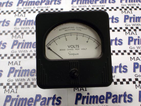Simpson 47 Series Panel Meter Catalog # 8140
