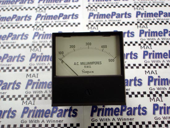 Simpson 2153 Series Panel Meter Catalog # 17719
