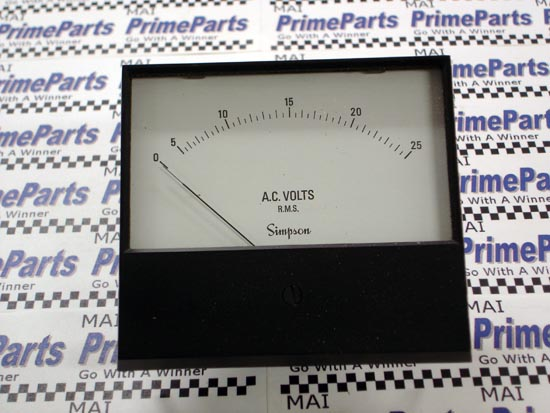 Simpson 2154 Series Panel Meter Catalog # 17773
