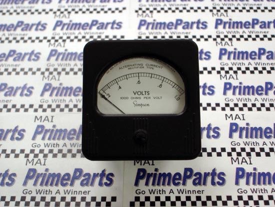 Simpson 47 Series Panel Meter Catalog # 8120