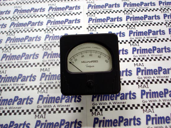 Simpson 57 Series Panel Meter Catalog # 05480