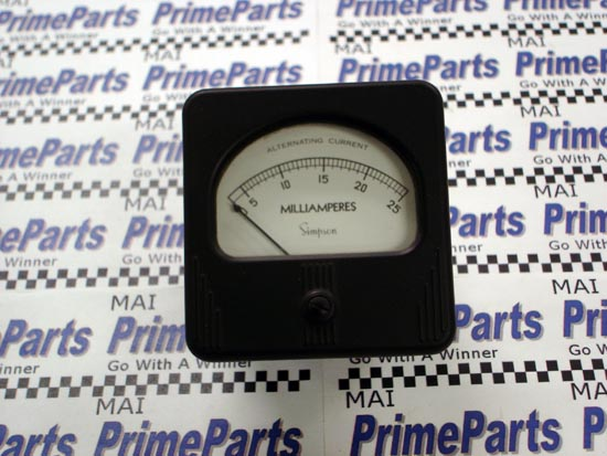 Simpson 57 Series Panel Meter Catalog # 05460