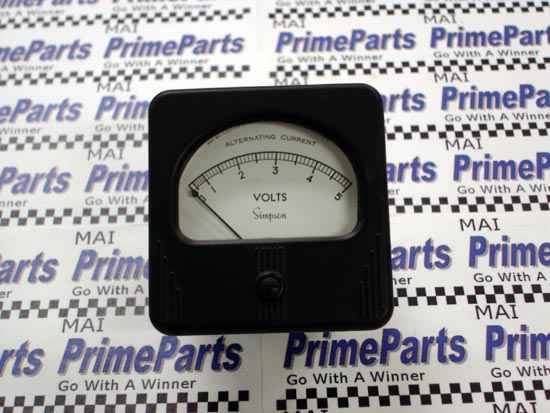 Simpson 57 Series Panel Meter Catalog # 8550