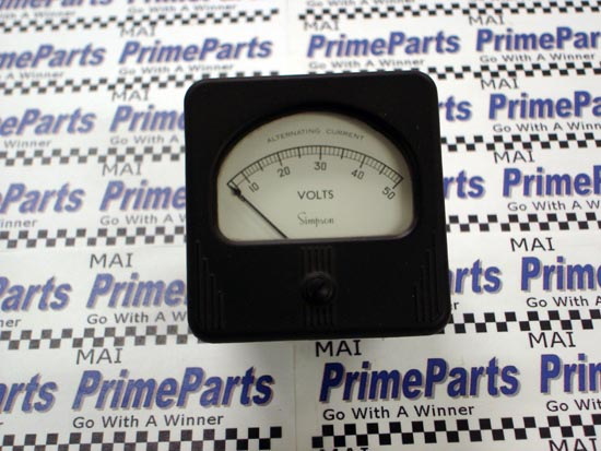 Simpson 57 Series Panel Meter Catalog # 8610
